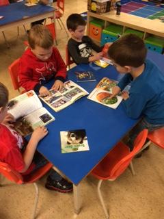 Reading in Kindergarten!
