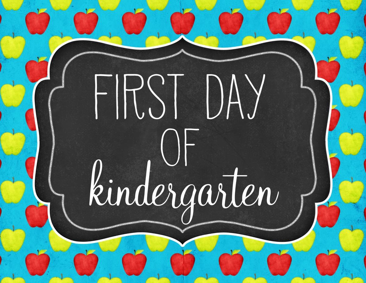 New Kindergarten Families!
