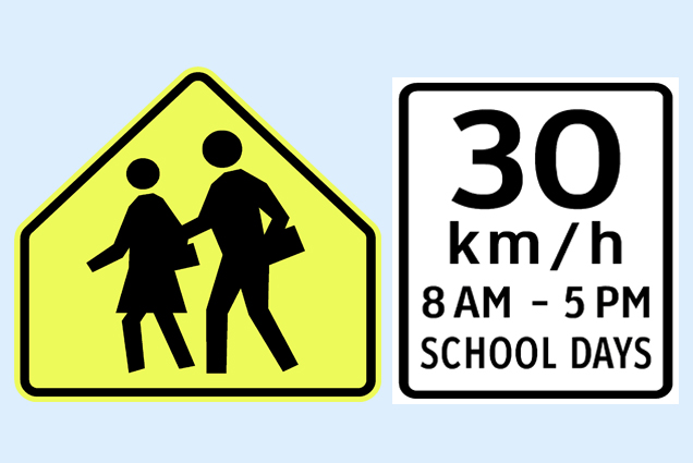 Motorists Take Note: Extended Time for School Speed Zones